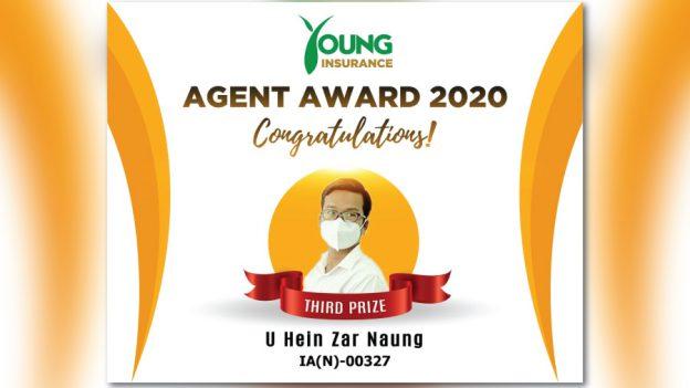 agent award 2020 (u hein zar naung)