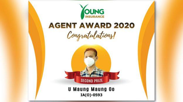 agent award 2020 (u maung maung oo)